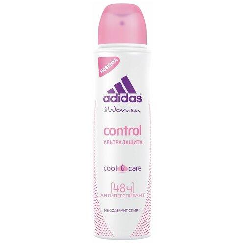 Купить Adidas дезодорант-антиперспирант, спрей, Cool&Care Control ультра защита, 150 мл