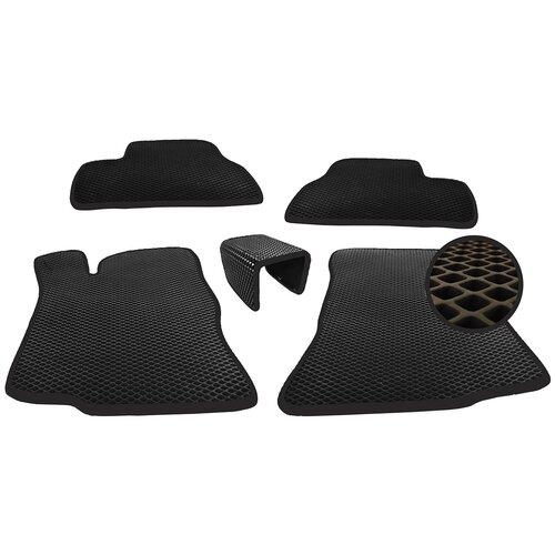 Автомобильные коврики EVA (ромб) для Toyota RAV4 III (XA30) Long (2005-2014)