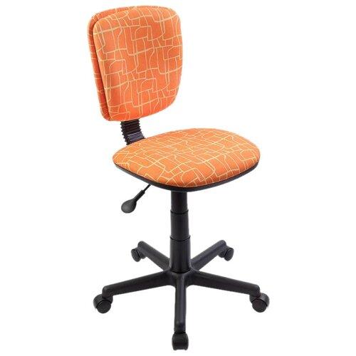 Компьютерное кресло Бюрократ CH-204NX детское, обивка: текстиль, цвет: оранжевый жираф компьютерное кресло бюрократ ch 204nx детское детское обивка текстиль цвет синий карандаши