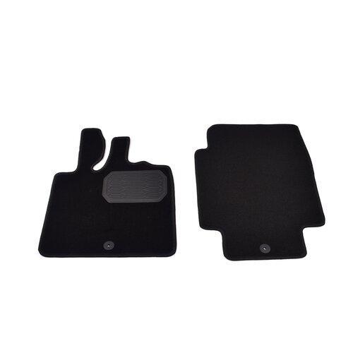 Комплект ковриков салона NorPlast NPL-VTe-820-100 2 шт. черный