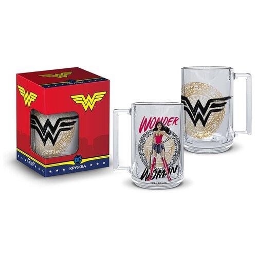 Кружка Wonder Woman Фитнес (320мл) (подарочная упаковка)