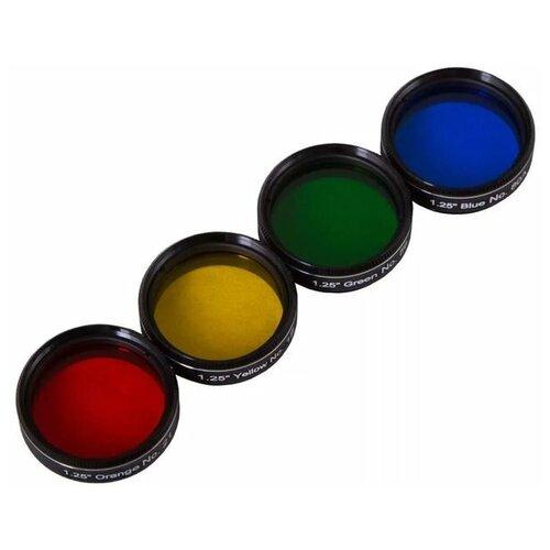 Фото - Набор светофильтров Bresser Explore Scientific №2 кейс для светофильтров hakuba kcs 35 yellow