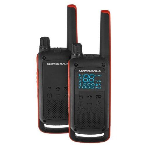 Рация Motorola Talkabout T82 черный/оранжевый