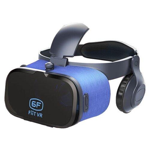 Очки виртуальной реальности для смартфона FIIT VR 6F, черно-синий