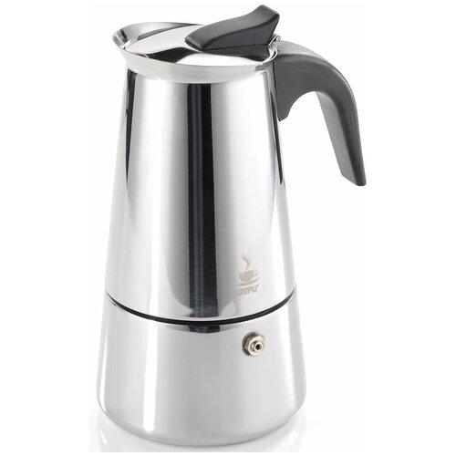 Гейзерная кофеварка Gefu Эмилио (0.2 л), стальной