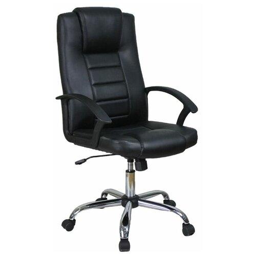 Компьютерное кресло College BX-3375 для руководителя, обивка: искусственная кожа, цвет: черный