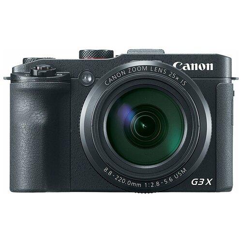 Фото - Фотоаппарат Canon PowerShot G3 X фотоаппарат canon powershot sx740 hs серебристый коричневый