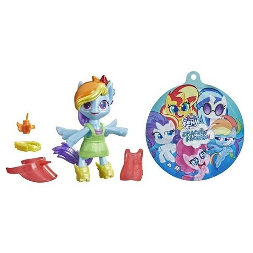 Фигурка My Little Pony Пони взрывная модница F1277