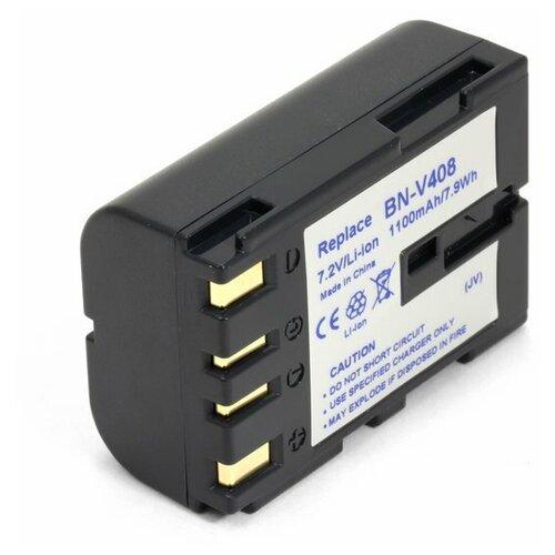 Фото - Аккумулятор для видеокамеры JVC BN-V408, BN-V408U, BN-V416 усиленный аккумулятор для jvc bn v416 bn v416u bn v428