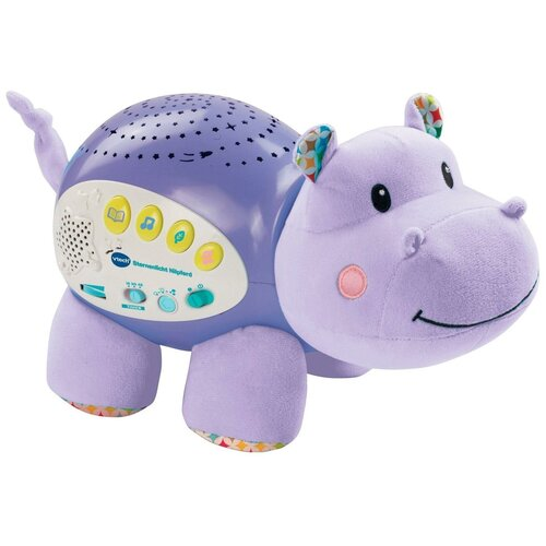 Купить Интерактивная развивающая игрушка VTech Музыкальный проектор звездного неба Vtech «Бегемот» (80-180926), фиолетовый, Развивающие игрушки