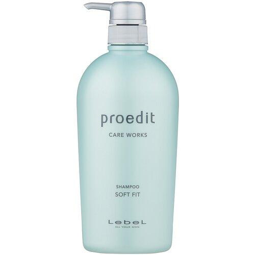 Купить Lebel Cosmetics шампунь Proedit Care Works Soft Fit, 700 мл