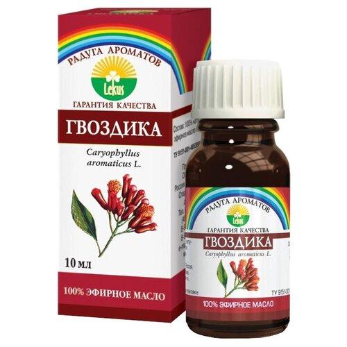 ЛЕКУС эфирное масло Радуга ароматов Гвоздика, 10 мл лекус масло эфирное бергамот 10г