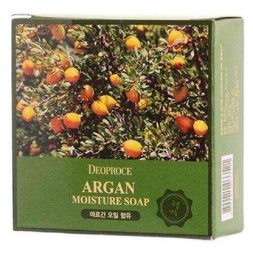 Купить Мыло кусковое Deoproce с аргановым маслом, 100 г