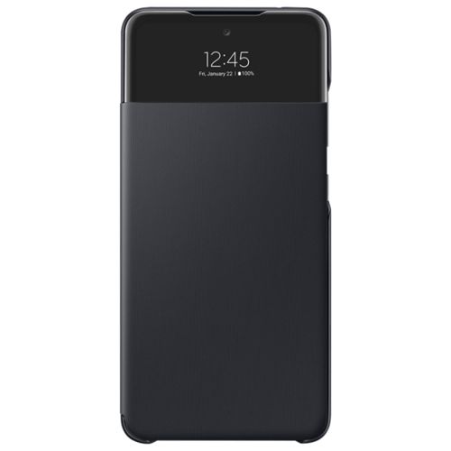 Чехол-книжка Samsung Smart S View Wall черныйet Cover A52