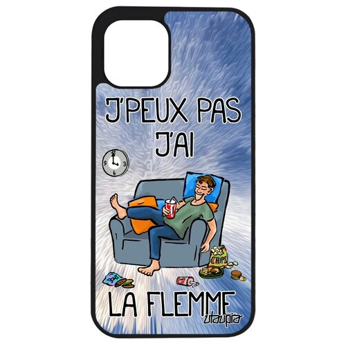 """Чехол для смартфона Apple iPhone 12 mini, """"Не могу - мне лень!"""" Комикс Юмор"""