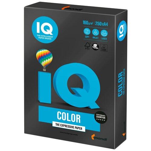 Фото - Бумага IQ Color А4 160 г/м² 250 лист., черный B100 бумага brauberg а4 122623 115 г м2 25 лист