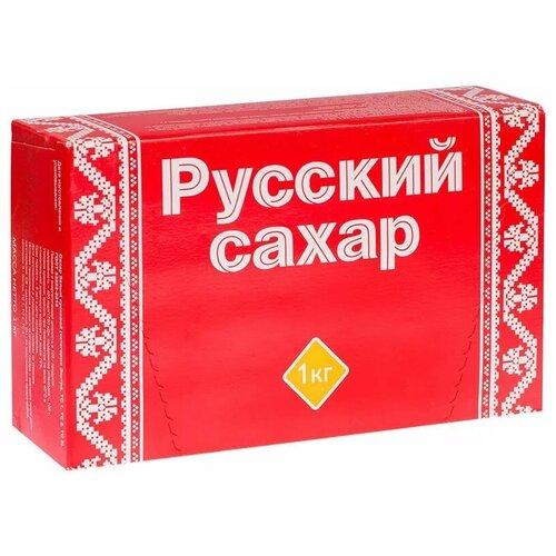 Фото - Сахар Русский сахар кусковой, 1 кг сахар темный dansukker кусковой 500 г