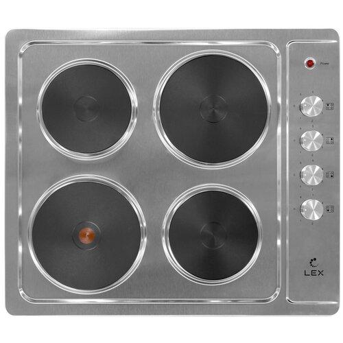 Электрическая варочная панель LEX EVS 640 IX