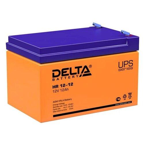 Аккумуляторная батарея DELTA Battery HR 12-12 12 А·ч
