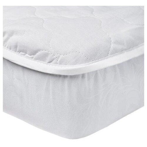 Наматрасник-чехол бязь, Белый; Размер: 160 х 200