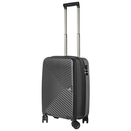 Турецкий чемодан Delvento модель Prism Black 59 см, 35л