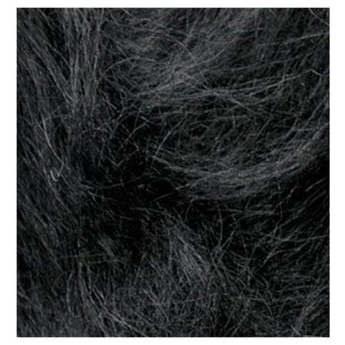 Купить Пряжа для вязания Ализе Mohair classic NEW (25% мохер, 24% шерсть, 51% акрил) 5х100г/200м цв.060 черный, Alize
