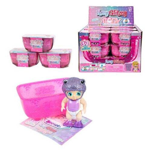 Baby Secrets, коллекционная куколка в ванной, серии Itzy Glitzy, 12 шт. в ассортименте + 1 редкий
