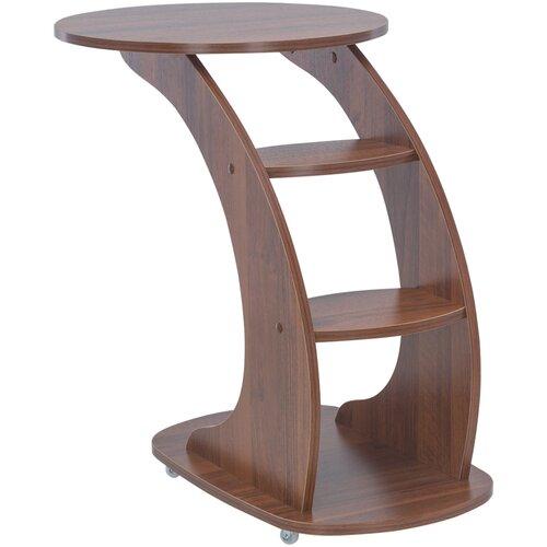 Подкатной столик Leset Стелс, Орех