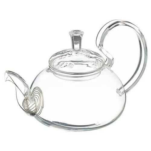 Доляна Чайник заварочный Элегия 600 мл, бесцветный доляна чайник заварочный восточная ночь 600 мл зеленый