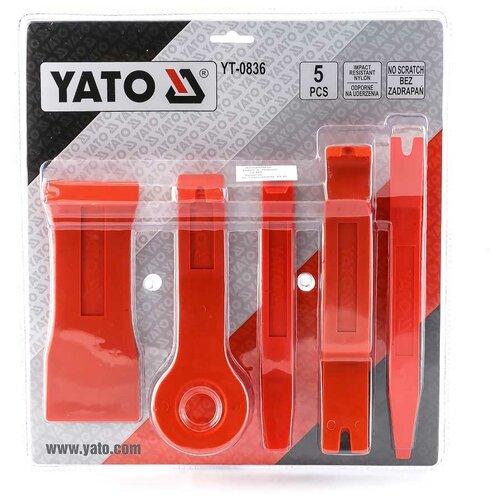 YATO Съемники обивки YATO 5 шт YT-0836