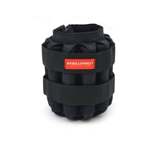 Манжеты регулируемые 6 кг (под грузы 2х6 кг, 500 гр -24 шт) Черный