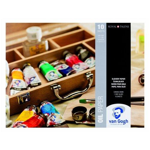 Фото - Альбом для масляных красок Royal Talens Van Gogh 40 х 30 см, 240 г/м², 10 л. альбом для акварели royal talens rembrandt 32 х 24 см 300 г м² 20 л