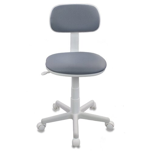 Компьютерное кресло Бюрократ CH-W201NX детское, обивка: текстиль, цвет: серый 15-48 компьютерное кресло бюрократ ch w797 abstract детское обивка текстиль цвет мультиколор абстракция