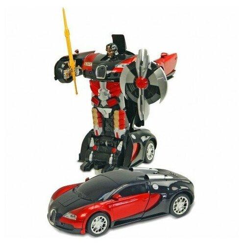 Фото - Радиоуправляемый трансформер MZ Bugatti Veyron радиоуправляемый робот трансформер mz model радиоуправляемый робот трансформер mz porshe 911 meizhi 2337p