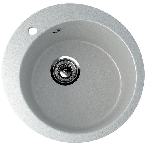 Фото - Врезная кухонная мойка 49.5 см EcoStone ES-13 310 серый врезная кухонная мойка 103 см ecostone es 29 308 черный