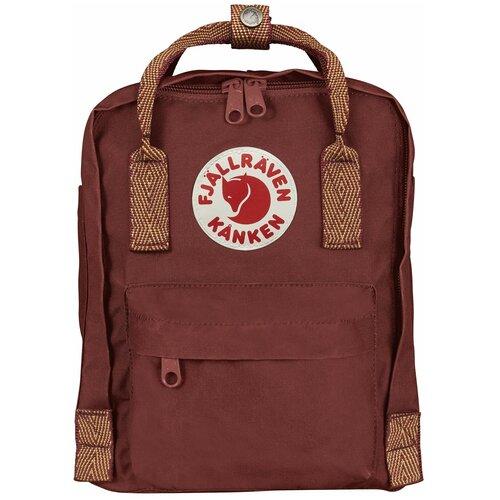 Городской рюкзак Fjallraven Kånken Mini 7, red ox-goose eye