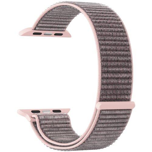 Фото - Нейлоновый ремешок для Apple Watch 42/44 mm LYAMBDA VEGA DS-GN-02-44-5 Rose Gold нейлоновый ремешок для apple watch 42 44 mm lyambda vega ds gn 02 44 6 gray white