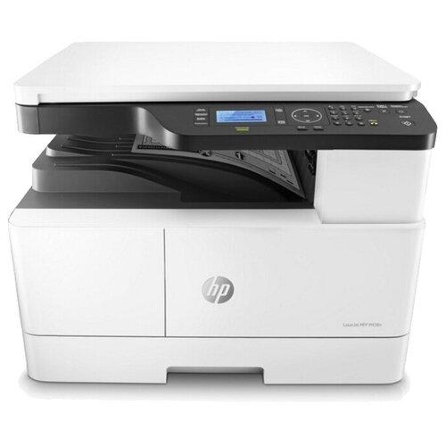МФУ HP LaserJet M438n, белый/черный