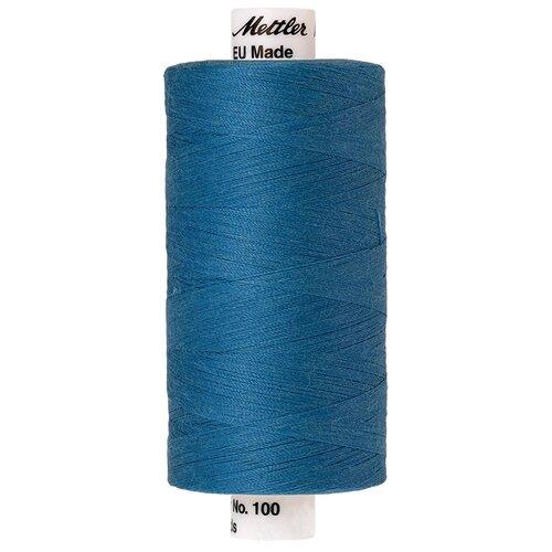 Нить универсальная SERALON 100, 1000 м 100% полиэстер 0022 Wave Blue ( 6680-0022 )