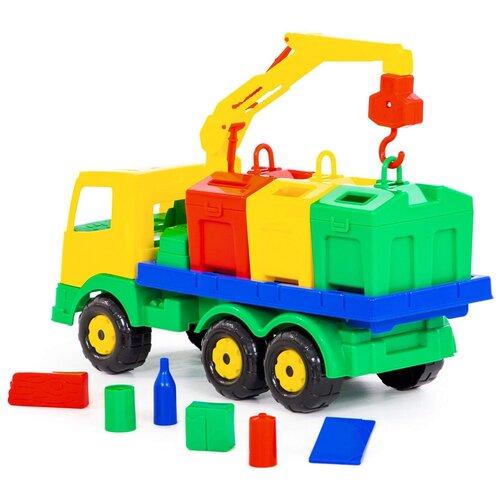 Фото - Автомобиль-контейнеровоз 7234 радиоуправляемый контейнеровоз zhoule toys радиоуправляемый контейнеровоз citytruck 1 18 551 b1