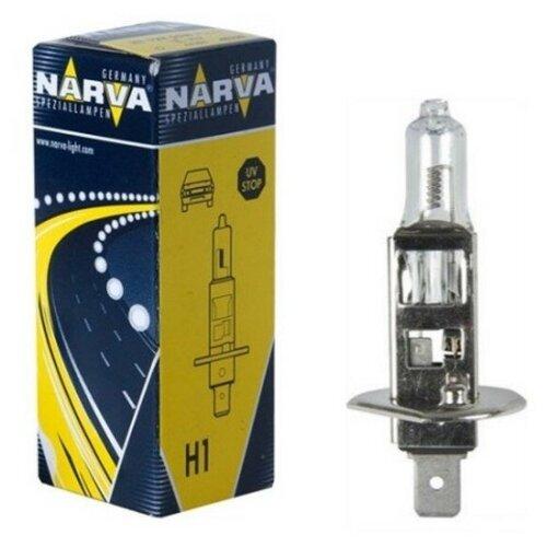 Лампа автомобильная галогенная Narva N-48380 H1 130W 1 шт.