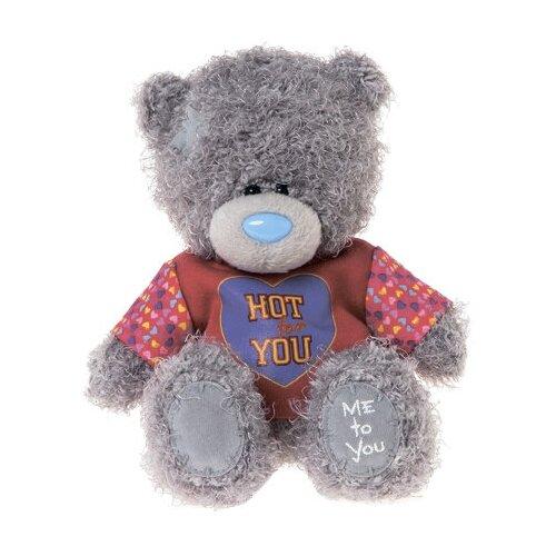 Мягкая игрушка Me to you Мишка Тедди в свитере Hot for you 18 см