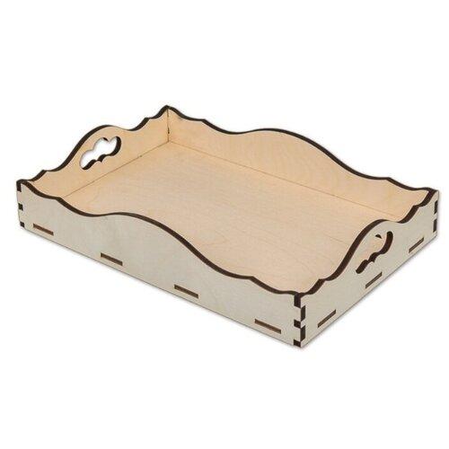 Купить Mr. Carving Заготовка для декорирования Поднос ВД-238 бежевый, Декоративные элементы и материалы