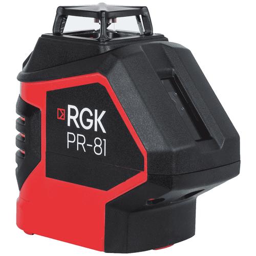 Фото - Лазерный уровень RGK PR-81 - 360 градусов лазерный нивелир rgk pr 110