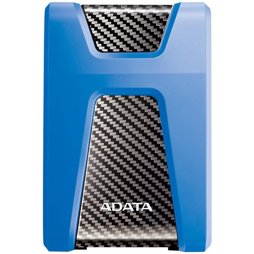 Фото - Внешний HDD ADATA DashDrive Durable HD650 1 ТБ, синий внешний жесткий диск hdd adata usb3 1 2tb dashdrive hv620s black