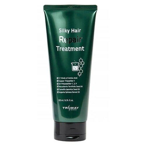 Купить Trimay маска-бальзам для волос с маслами Trimay Silky Hair Repair Treatment, 200 мл