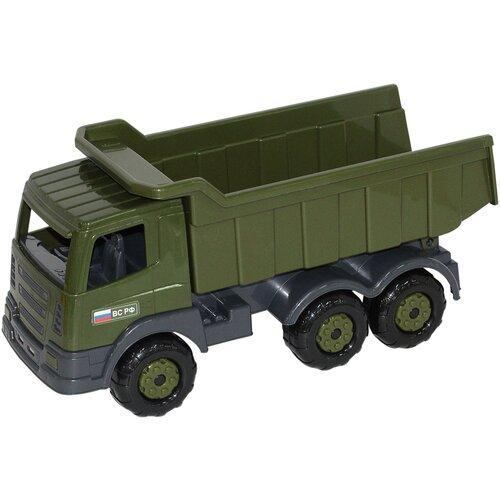 грузовик полесье 1657 41 см Грузовик Полесье военный Престиж (48622), 41 см, зеленый/черный/серый
