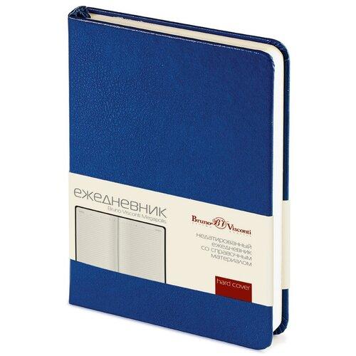 Купить Ежедневник недатированный Bruno Visconti синий, А6, 87*130 мм, 100 листов, Br. V. Megapolis, Ежедневники, записные книжки