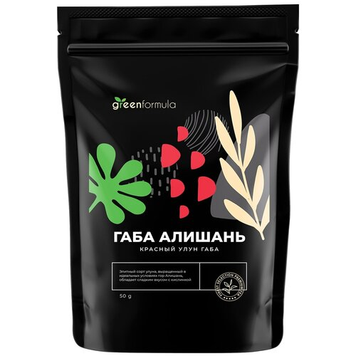 Улун ГАБА Алишань красная (чай габа от GreenFormula, ГАМК, витаминный оолонг высшего качества), 50 грамм недорого
