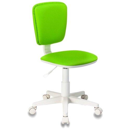 Компьютерное кресло Бюрократ CH-W204NX детское, обивка: текстиль, цвет: салатовый 15-118 компьютерное кресло бюрократ ch 204nx детское детское обивка текстиль цвет синий карандаши